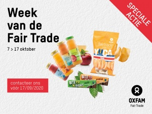 Week van de Fair Trade promotie