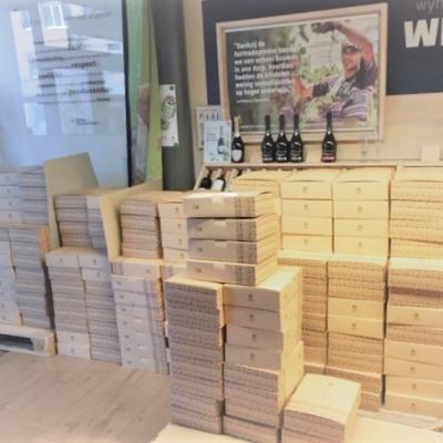 Oxfam-Wereldwinkel Vilvoorde geschenkpakket klaar