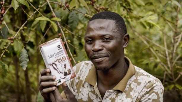 African Blend Coffee Oxfam Fair Trade Congo