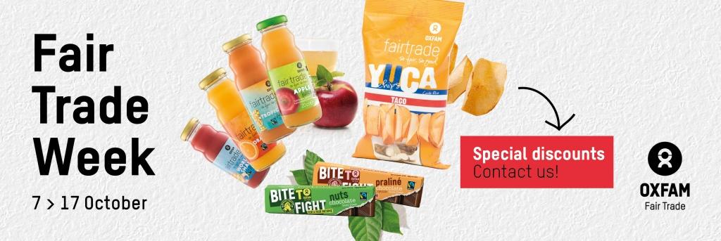 Week van de Fair Trade promotie