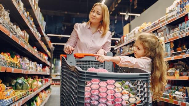 Oxfamproducten in de supermarkt